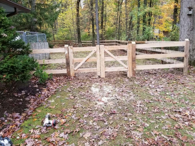 Wooden Fencing 15